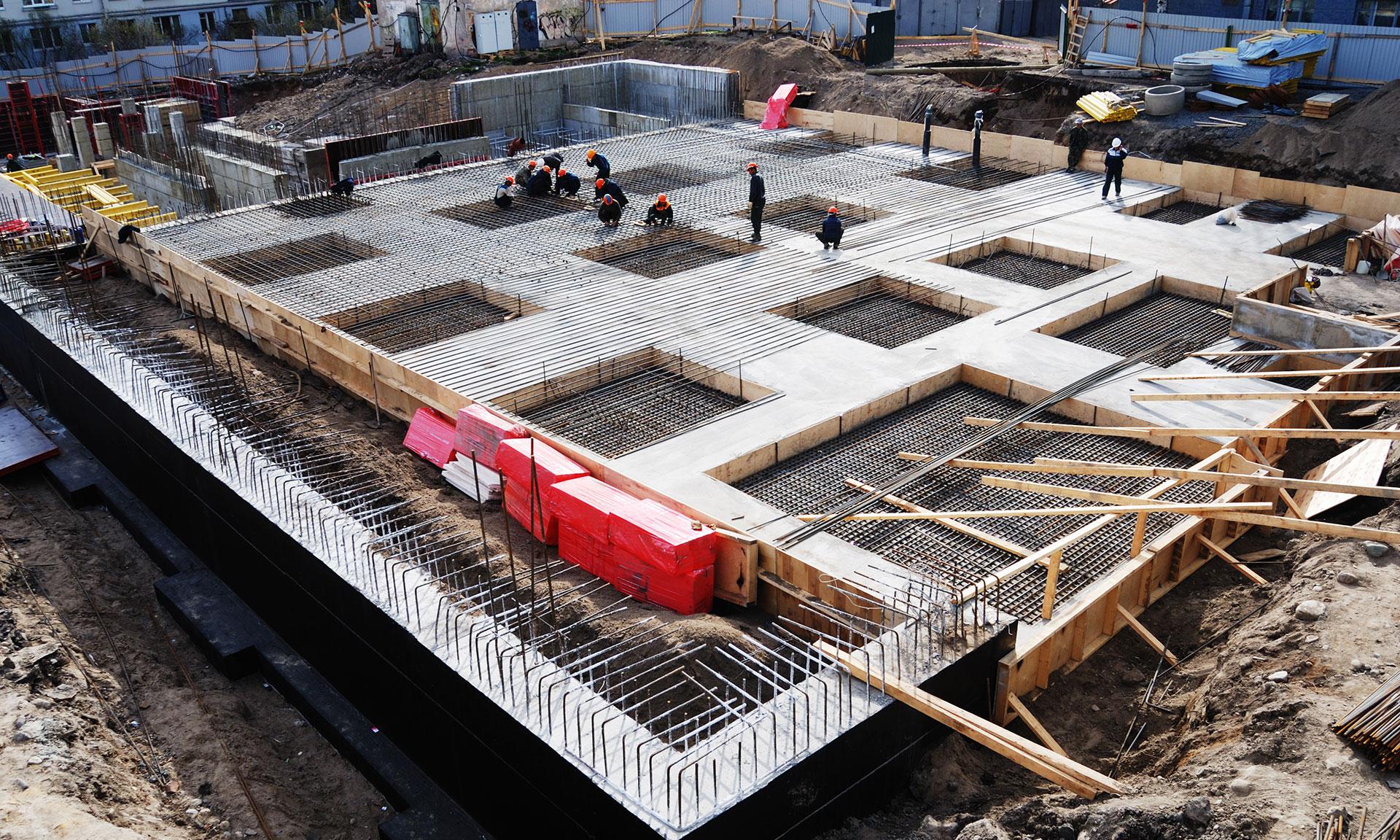 стоимость бетонных работ за м3